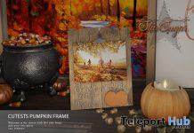 Cute Pumpkin Patch Frame September 2020 Gift by Star Sugar - Teleport Hub - teleporthub.com
