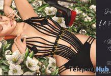 Spider Set Bodysuit & Shoes October 2020 Group Gift by LA PERLA - Teleport Hub - teleporthub.com