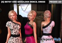 New Release: [S] Betsy One Should Pencil Dress by [satus Inc] - Teleport Hub - teleporthub.com