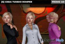 New Release: [S] Cesia Tuxedo Romper by [satus Inc] - Teleport Hub - teleporthub.com