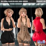 New Release: [S] Ezra Sleeveless Mini Dress by [satus Inc] - Teleport Hub - teleporthub.com