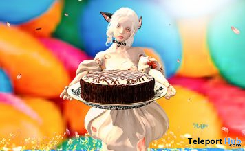 Cake Single Pose September 2020 Group Gift by *AAP* - Teleport Hub - teleporthub.com