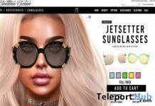 Jetsetter Sunglasses September 2020 Group Gift by Cinnamon Cocaine - Teleport Hub - teleporthub.com