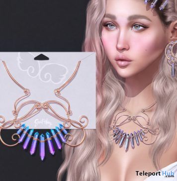 Crystalline Necklace September 2020 Group Gift by Sweet Thing - Teleport Hub - teleporthub.com