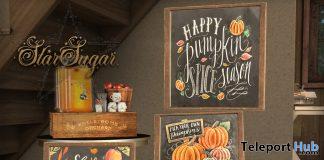 Pumpkin Season Frames September 2020 Group Gift by Star Sugar - Teleport Hub - teleporthub.com