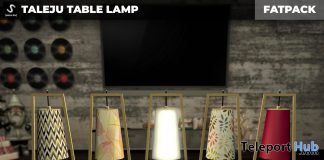 New Release: Taleju Table Lamp by [satus Inc] - Teleport Hub - teleporthub.com