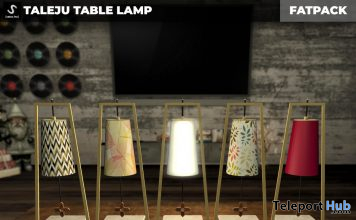 New Release: Taleju Table Lamp by [satus Inc] - Teleport Hub - teleporthub.com