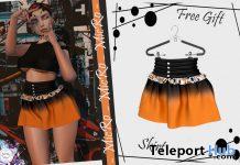 Lona Halloween Skirt October 2020 Group Gift by MicRo - Teleport Hub - teleporthub.com