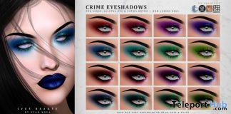 Crime Eyeshadows October 2020 Group Gift by IVES Beauty - Teleport Hub - teleporthub.com