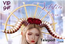 Luas Solstice Crown October 2020 Group Gift by Luas - Teleport Hub - teleporthub.com