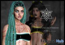 Cyberpunk Underwear October 2020 Group Gift by Psycho Barbie - Teleport Hub - teleporthub.com