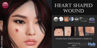 Heart Shaped Wound Halloween 2020 Gift by Izzie's - Teleport Hub - teleporthub.com