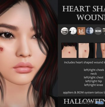 Heart Shaped Wound Halloween 2020 Gift by Izzie's - Teleport Hub - teleporthub.com