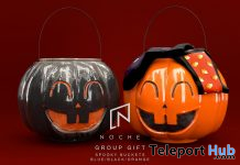 Spooky Bucket October 2020 Group Gift by Noche - Teleport Hub - teleporthub.com