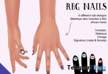 RBG Nails October 2020 Subscriber Gift by HopScotch - Teleport Hub - teleporthub.com