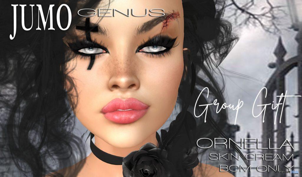Ornella Skin Cream Tone October 2020 Group Gift by JUMO Originals - Teleport Hub - teleporthub.com