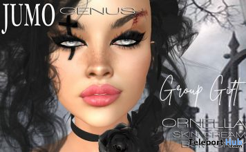 Ornella Skin Cream Tone October 2020 Group Gift by JUMO Originals - Teleport Hub - teleporthub.com