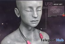 USB Necklaces October 2020 Group Gift by Cubic Cherry - Teleport Hub - teleporthub.com