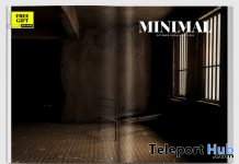 Abandoned Cell Backdrop October 2020 Group Gift by MINIMAL - Teleport Hub - teleporthub.com