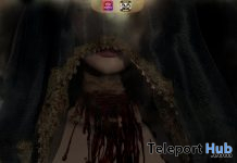 Dominique Slit Throat Halloween 2020 Group Gift by La Malvada Mujer - Teleport Hub - teleporthub.com