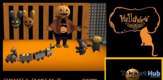 Message Pumpkin Man October 2020 Group Gift by [[RH]] Design House x [MB] - Teleport Hub - teleporthub.com