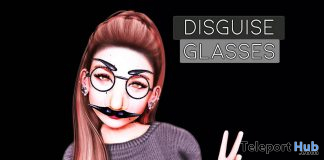 Disguise Glasses October 2020 Group Gift by Junk Food - Teleport Hub - teleporthub.com