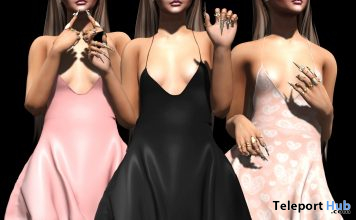 New Release: Frou Dress by Oh! @ Sense Event October 2020 - Teleport Hub - teleporthub.com
