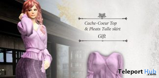 Cache-Coeur Top & Pleats Tulle Skirt October 2020 Group Gift by S@BBiA - Teleport Hub - teleporthub.com