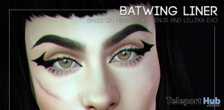 Batwing Liner October 2020 Group Gift by Nar Mattaru - Teleport Hub - teleporthub.com