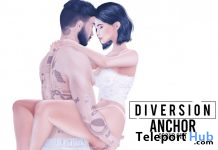 Anchor Couple Pose October 2020 Group Gift by Diversion - Teleport Hub - teleporthub.com