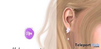 Hydrangea Earrings 1L Promo Gift by 51pa - Teleport Hub - teleporthub.com