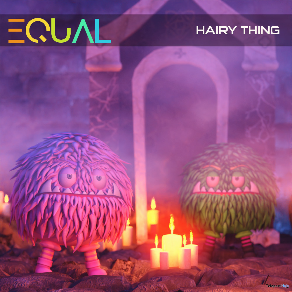 Hairy Thing October 2020 Group Gift by EQUAL - Teleport Hub - teleporthub.com