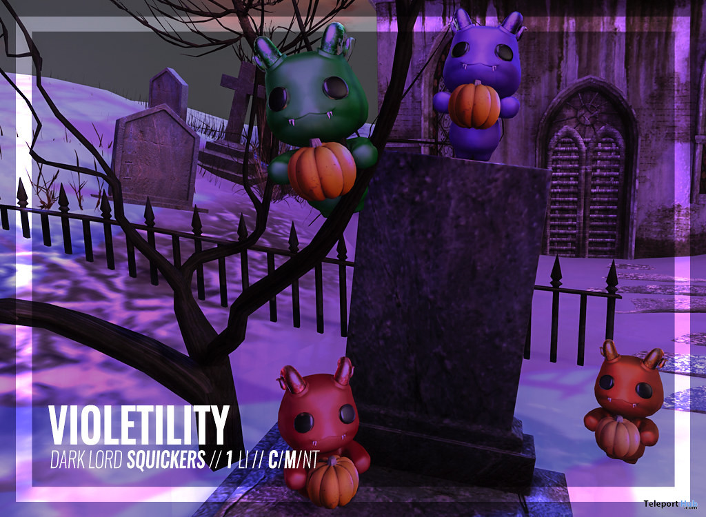 Halloween Dark Lord Squickers October 2020 Group Gift by Violetility - Teleport Hub - teleporthub.com