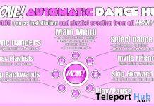 New Release: Automatic Dance HUD by MOVE! Animations Cologne - Teleport Hub - teleporthub.com