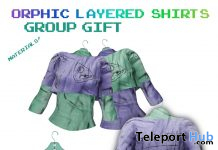 Orphic Layered Shirts October 2020 Group Gift by Orphic - Teleport Hub - teleporthub.com