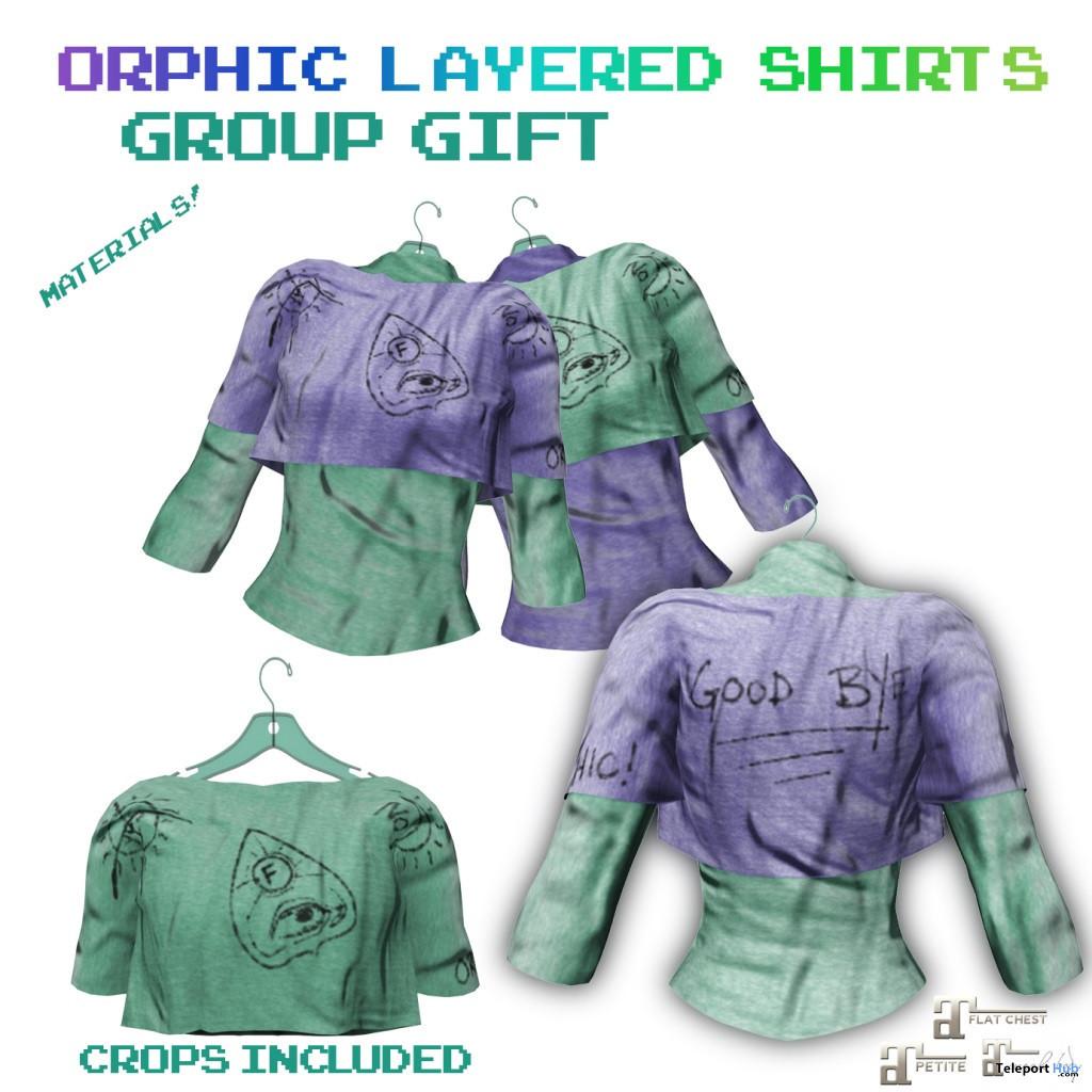 Orphic Layered Shirts October 2020 Group Gift by Orphic - Teleport Hub - teleporthub.com