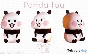 Panda Toy 1L Promo Gift by Prado - Teleport Hub - teleporthub.com