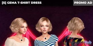New Release: [S] Gema T-Shirt Dress by [satus Inc] - Teleport Hub - teleporthub.com