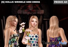 New Release: [S] Hollis Wrinkle Mini Dress by [satus Inc] - Teleport Hub - teleporthub.com