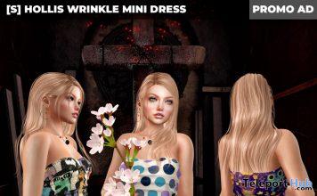 New Release: [S] Hollis Wrinkle Mini Dress by [satus Inc] - Teleport Hub - teleporthub.com