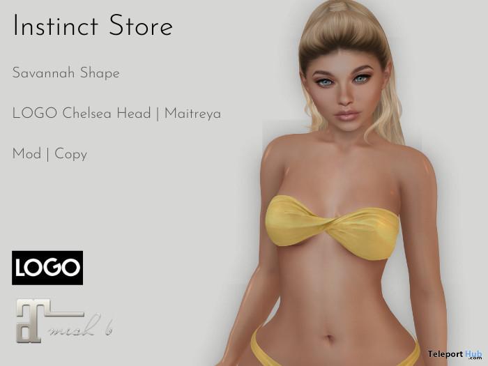 Savannah Shape For LOGO Chelsea Mesh Head 10L Promo by Instinct Store - Teleport Hub - teleporthub.com