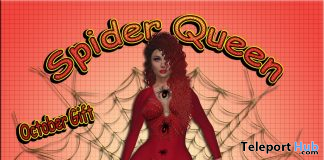 Spider Queen October 2020 Group Gift by BoutiqueGglam - Teleport Hub - teleporthub.com