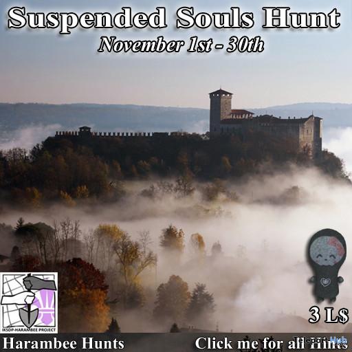 Harambee Suspended Souls Hunt 2020 - Teleport Hub - teleporthub.com