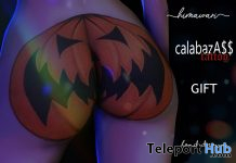 calabazA$$ Tattoo October 2020 Gift by Himawari - Teleport Hub - teleporthub.com