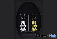 Boo Statement Earrings October 2020 Group Gift by CELESTE - Teleport Hub - teleporthub.com