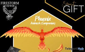 Phoenix Animesh Companion Firestorm 10th Anniversary Event October 2020 Gift by Rezz Room - Teleport Hub - teleporthub.com