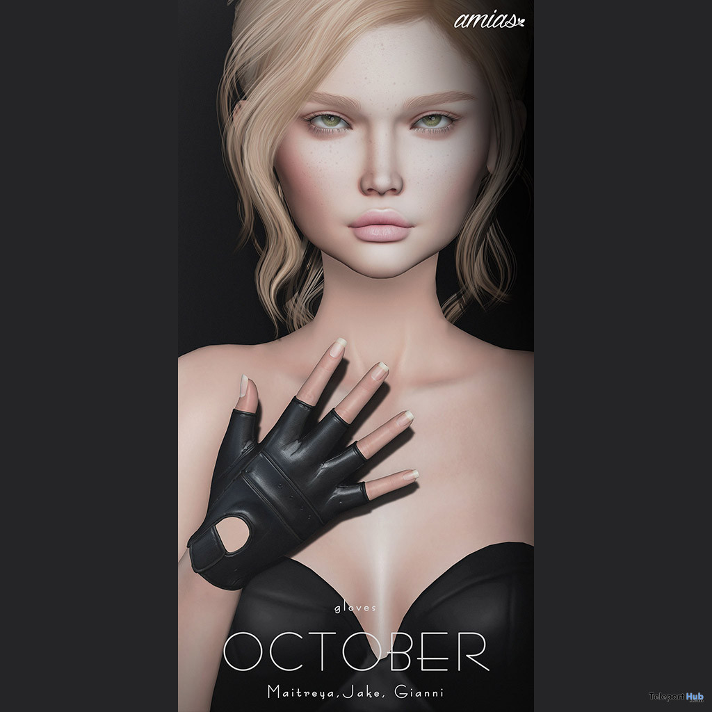 Unisex Gloves October 2020 Group Gift by amias - Teleport Hub - teleporthub.com