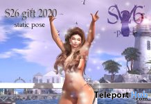 Single Bento Female Pose October 2020 Group Gift by S26 Poses - Teleport Hub - teleporthub.com