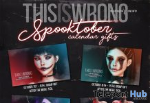 THIS IS WRONG Spooktober Calendar Gifts 2020 - Teleport Hub - teleporthub.com