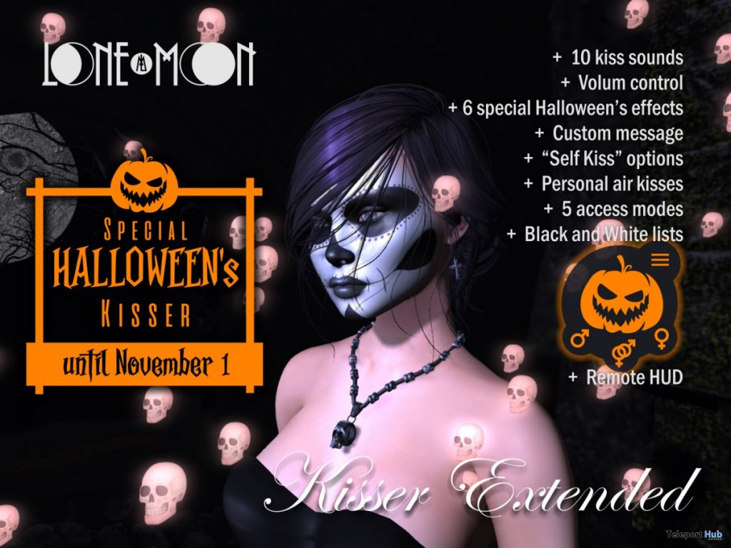 Kisser Extended Halloween's Edition 100L Promo by LoneMoon - Teleport Hub - teleporthub.com